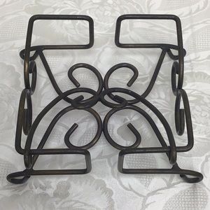 Fantasia Metal Napkin Holder by Princess House